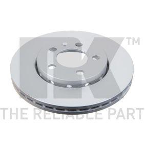 Bremsscheibe Bremsscheibendicke: 22mm, Felge: 5-loch, Ø: 256mm mit OEM-Nummer 6R0 615 301