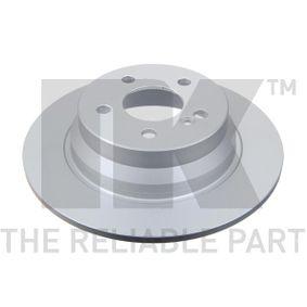 Bremsscheibe Bremsscheibendicke: 10,00mm, Felge: 5,00-loch, Ø: 300mm mit OEM-Nummer A2114230712