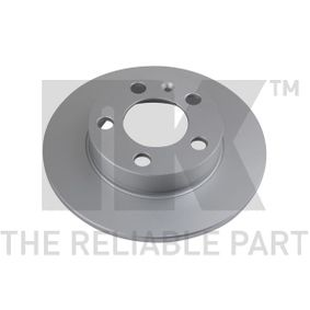 Bremsscheibe Bremsscheibendicke: 9mm, Felge: 5-loch, Ø: 232mm mit OEM-Nummer 2Q0 615 601H