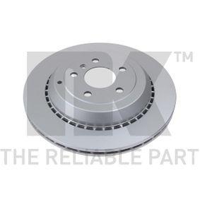 Спирачен диск дебелина на спирачния диск: 22,00мм, джанта: 5,00-дупки, Ø: 330,00мм с ОЕМ-номер A1644231312