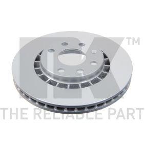 Bremsscheibe Bremsscheibendicke: 24mm, Felge: 4-loch, Ø: 256mm mit OEM-Nummer 93175482