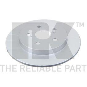 Bremsscheibe Bremsscheibendicke: 9mm, Felge: 5-loch, Ø: 259mm mit OEM-Nummer 42431-02200