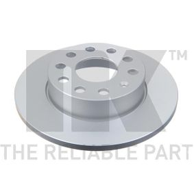Bremsscheibe Bremsscheibendicke: 12,00mm, Felge: 5,00-loch, Ø: 256mm mit OEM-Nummer 1K0615601AJ