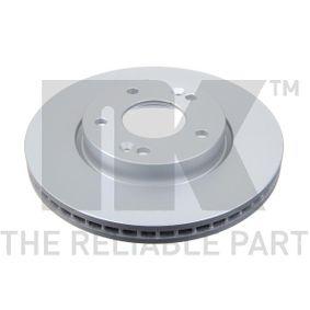 Brake Disc Brake Disc Thickness: 26mm, Rim: 5-Hole, Ø: 280mm with OEM Number S517122K100