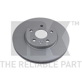 Bremsscheibe Bremsscheibendicke: 26,00mm, Felge: 5,00-loch, Ø: 276mm mit OEM-Nummer 5 69 073