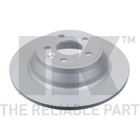 Bremsscheibe Bremsscheibendicke: 12,00mm, Felge: 5,00-loch, Ø: 302mm mit OEM-Nummer 3076905-8
