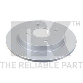 Brake Disc Brake Disc Thickness: 10,3mm, Rim: 4-Hole, Ø: 253mm with OEM Number 95GB-2A315-B1C
