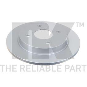 Brake Disc Brake Disc Thickness: 10,3mm, Rim: 4-Hole, Ø: 253mm with OEM Number 1 51 4237