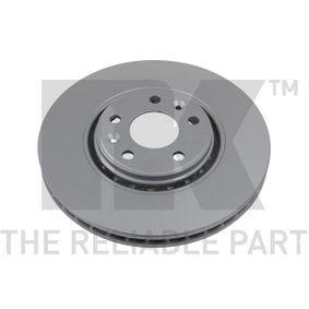 Brake Disc Brake Disc Thickness: 28mm, Rim: 5-Hole, Ø: 320mm with OEM Number 40206-0003R