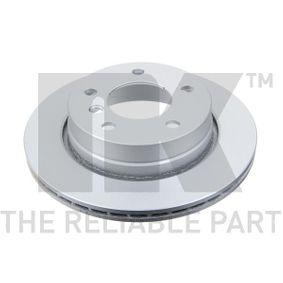Bremsscheibe Bremsscheibendicke: 19mm, Felge: 5-loch, Ø: 276mm mit OEM-Nummer 3421 6 855 155
