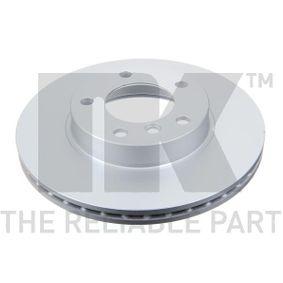 Bremsscheibe Bremsscheibendicke: 22mm, Felge: 5-loch, Ø: 286mm mit OEM-Nummer 3411 1 162 288