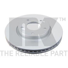 Brake Disc Brake Disc Thickness: 26mm, Rim: 5-Hole, Ø: 280mm with OEM Number 51712 1D100