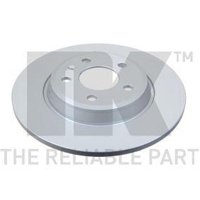 Bremsscheibe Bremsscheibendicke: 12,00mm, Felge: 5,00-loch, Ø: 300mm mit OEM-Nummer 8K0615601M