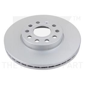 Bremsscheibe Bremsscheibendicke: 25mm, Felge: 5-loch, Ø: 288mm mit OEM-Nummer 1K0615301K