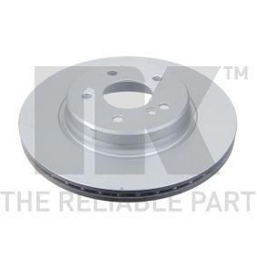 Bremsscheibe Bremsscheibendicke: 22,00mm, Felge: 5,00-loch, Ø: 300mm mit OEM-Nummer 210 423 0812