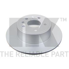 Bremsscheibe Bremsscheibendicke: 10,00mm, Felge: 5,00-loch, Ø: 286mm mit OEM-Nummer 4837027