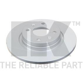Bremsscheibe Bremsscheibendicke: 12,00mm, Felge: 4,00-loch, Ø: 259mm mit OEM-Nummer 402065345R