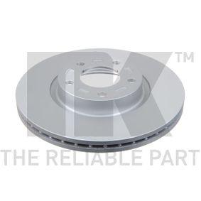 Brake Disc Brake Disc Thickness: 25mm, Rim: 5-Hole, Ø: 300mm with OEM Number C26Y3325XD