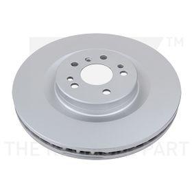 Спирачен диск дебелина на спирачния диск: 32,00мм, джанта: 5,00-дупки, Ø: 350,00мм с ОЕМ-номер A1644210512