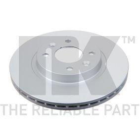 Bremsscheibe Bremsscheibendicke: 20,50mm, Felge: 4,00-loch, Ø: 259mm mit OEM-Nummer 6001548578