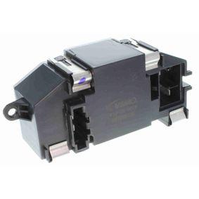 Regler, Innenraumgebläse Spannung: 12V mit OEM-Nummer 3C0 907 521D