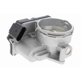 VEMO Drosselklappenstutzen V10-81-0041 für AUDI A3 (8P1) 1.9 TDI ab Baujahr 05.2003, 105 PS