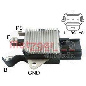 Generatorregler Nennspannung: 12V, Betriebsspannung: 14,2V mit OEM-Nummer 8603183