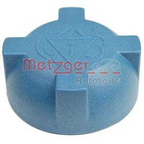 METZGER Verschlußdeckel, Kühlmittelbehälter 2140050 für AUDI 80 (8C, B4) 2.8 quattro ab Baujahr 09.1991, 174 PS