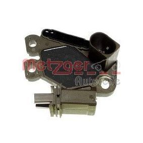 METZGER Generatorregler 2390047 für AUDI A4 (8E2, B6) 1.9 TDI ab Baujahr 11.2000, 130 PS