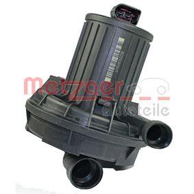 METZGER Sekundärluftpumpe 0899001 für AUDI A4 Avant (8E5, B6) 3.0 quattro ab Baujahr 09.2001, 220 PS