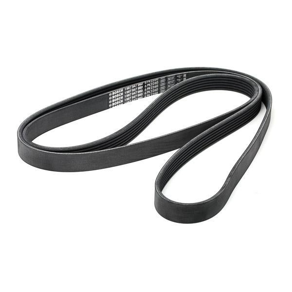 Poly V-Belt 1 987 947 960 BOSCH 6PK2260 original quality