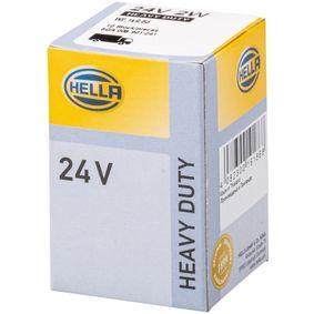 Bulb, instrument lighting W2W, W2,1x9,5d, 24V, 2W 8GA 008 901-241