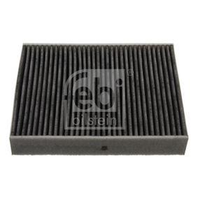 Filter, Innenraumluft Länge: 247mm, Breite: 199,0mm, Höhe: 40mm mit OEM-Nummer 64 11 9 395 845
