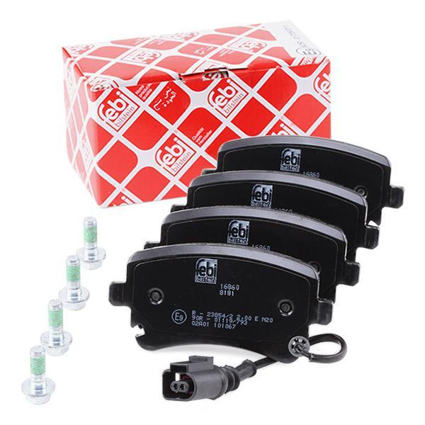 Febi-Bilstein 16860 Kit de plaquettes de frein frein /à disque
