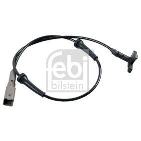 Sensor, Raddrehzahl Länge: 675mm mit OEM-Nummer 96 353 847 80