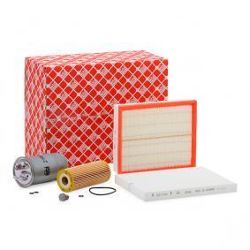 Filter-Satz VW PASSAT Variant (3B6) 1.9 TDI 130 PS ab 11.2000 FEBI BILSTEIN Teilesatz, Inspektion (38169) für