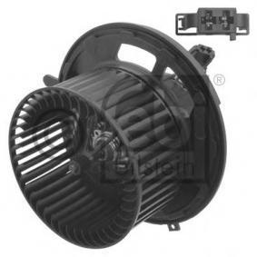 Innenraumgebläse Spannung: 12V, Anschlussanzahl: 2 mit OEM-Nummer 64116933663