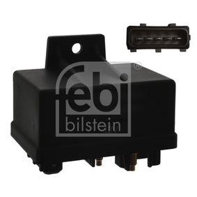 Relais, Glühanlage Spannung: 12V, schwarz, Anschlussanzahl: 7 mit OEM-Nummer 96 2520 3680