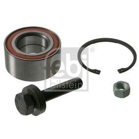Radlagersatz Ø: 80,0mm, Innendurchmesser: 43,0mm mit OEM-Nummer 7M0498625