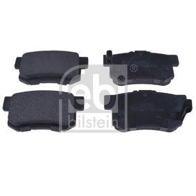 Brake Pad Set, disc brake 16873 CIVIC 7 Hatchback (EU, EP, EV) 2.0 Type-R MY 2004