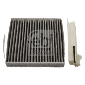 Filter, interior air Length: 186mm, Width: 181,0mm, Height: 28mm with OEM Number 7711426872