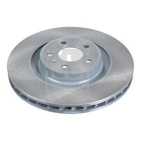 Brake Disc Brake Disc Thickness: 29,5mm, Ø: 345,0mm with OEM Number 8K0 615 301 Q