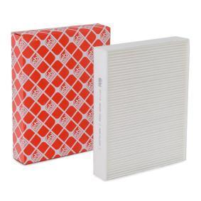 Filter, Innenraumluft Länge: 247mm, Breite: 199,0mm, Höhe: 40mm mit OEM-Nummer 6411 9 237 554