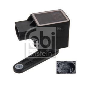 FEBI BILSTEIN Sensor, Xenonlicht (Leuchtweiteregulierung) 36921 für BMW 5 (E60) 530 xi ab Baujahr 01.2007, 272 PS