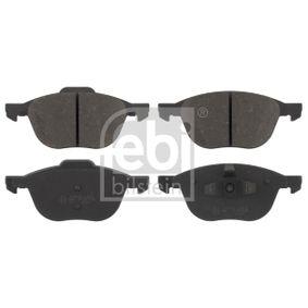 Bremsbelagsatz, Scheibenbremse Breite: 62,5, 67,2mm, Dicke/Stärke 1: 17,8mm mit OEM-Nummer 1 809 256