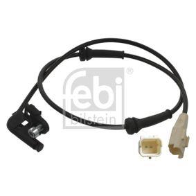 FEBI BILSTEIN Sensor, Raddrehzahl 36945 für PEUGEOT 307 SW (3H) 2.0 16V ab Baujahr 03.2005, 140 PS