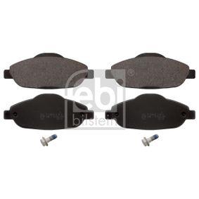 2016 Peugeot 3008 Mk1 1.2 Brake Pad Set, disc brake 16844