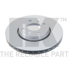 Brake Disc 313992 Clio 4 (BH_) 1.5 dCi (BHMW) MY 2013