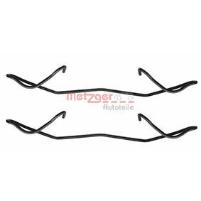 2009 Vauxhall Astra H 1.8 Accessory Kit, disc brake pads 109-1180