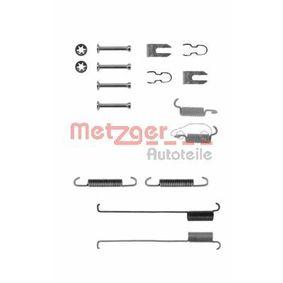 Accessory Kit, brake shoes 105-0739 PUNTO (188) 1.2 16V 80 MY 2002